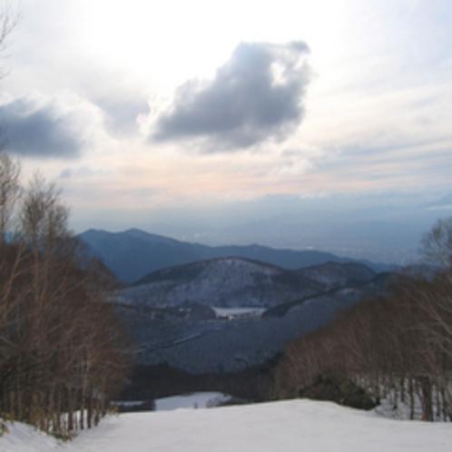 *冬の志賀高原