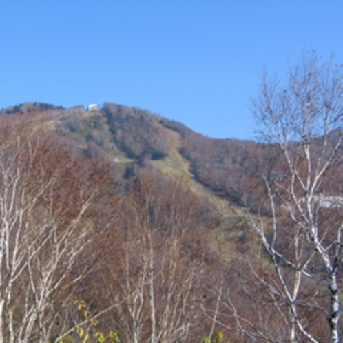 *山の風景