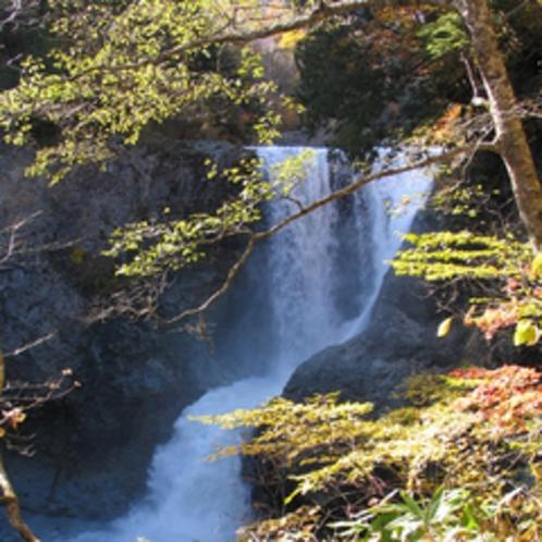 *紅葉の滝