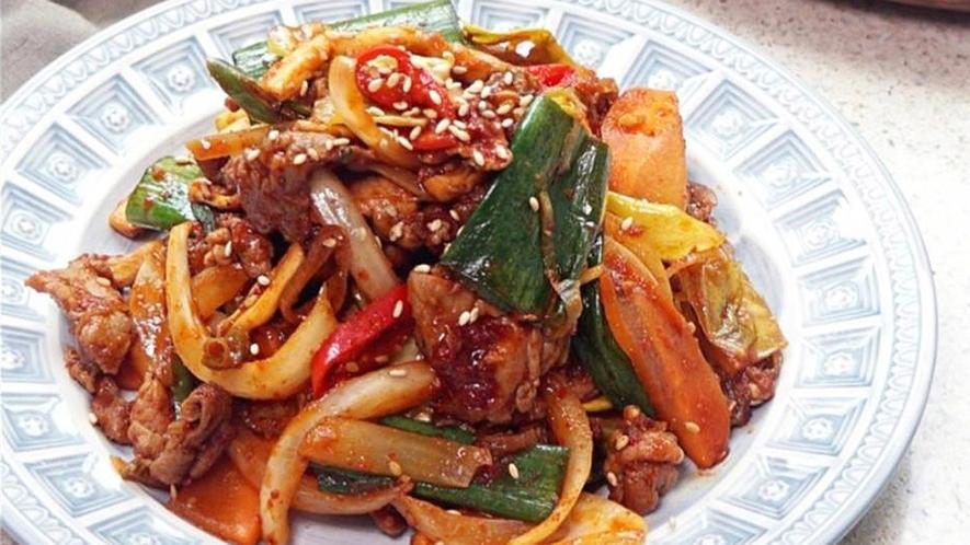 ・【料理一例】本場韓国の味 プルコギ