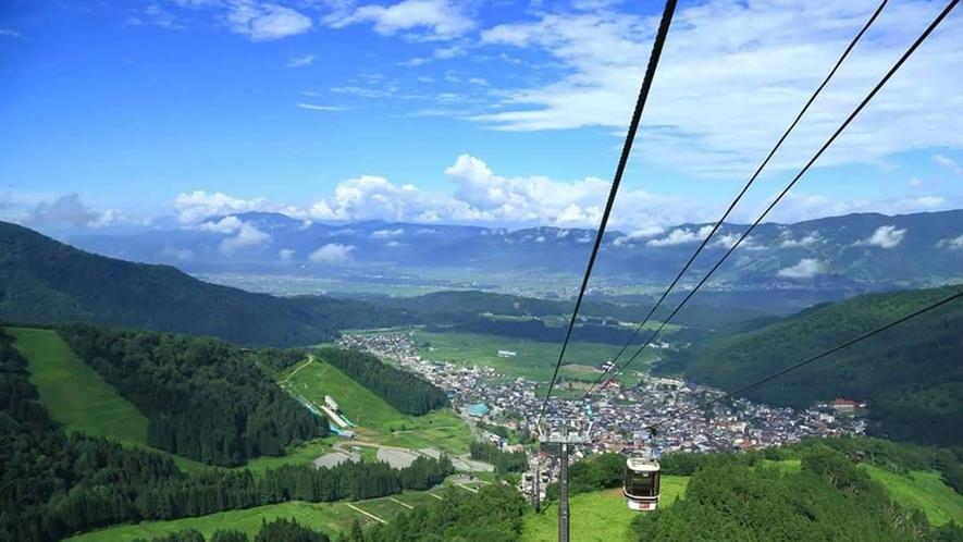 ・【周辺】野沢温泉スキー場 長坂ゴンドラリフト