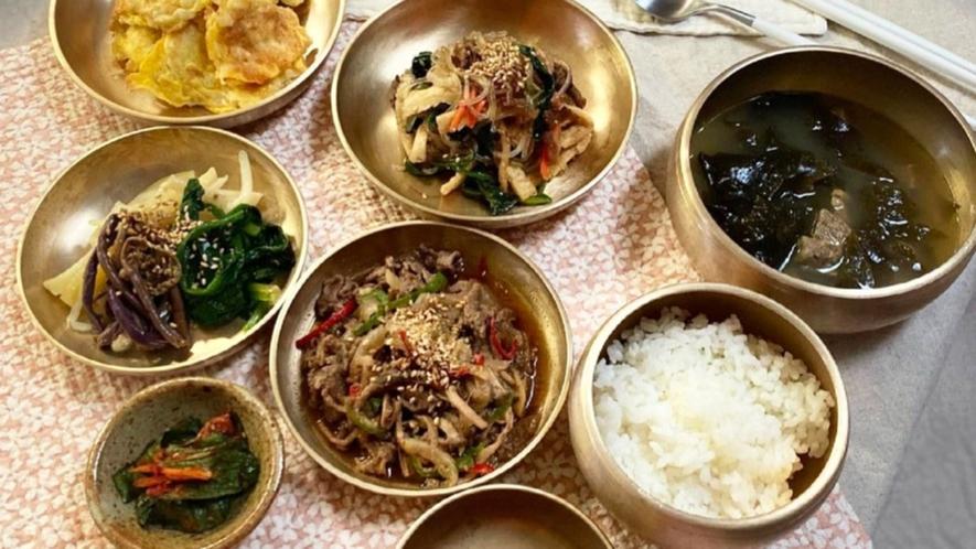 ・【料理一例】韓国料理 プルコギ