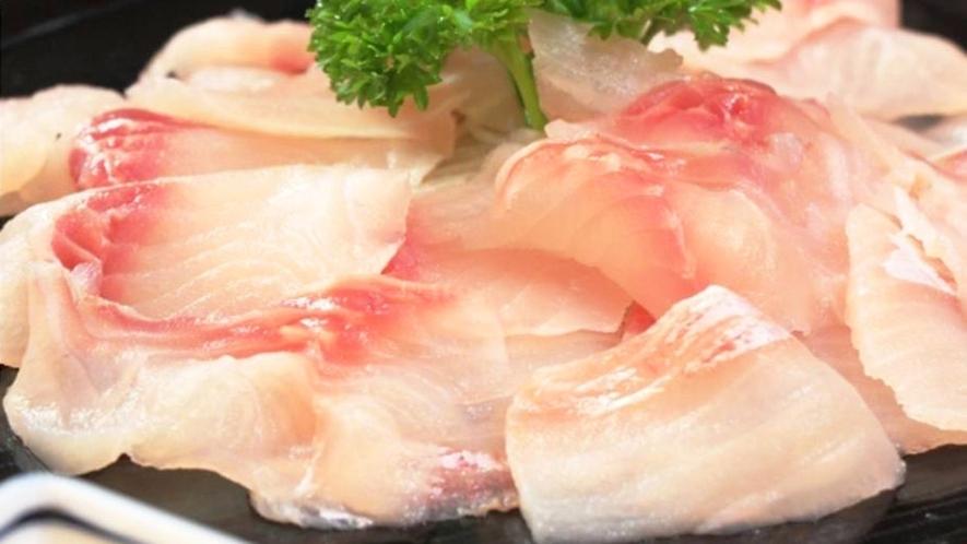 ・【料理一例】鯉のお造り