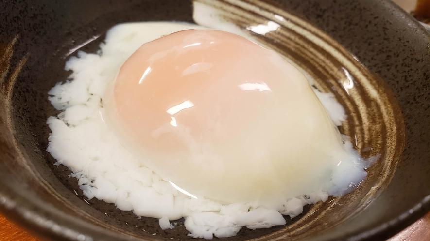 ・【朝食一例】温泉たまご