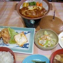 *夕食一例/心をこめたお食事をお楽しみ下さいませ。