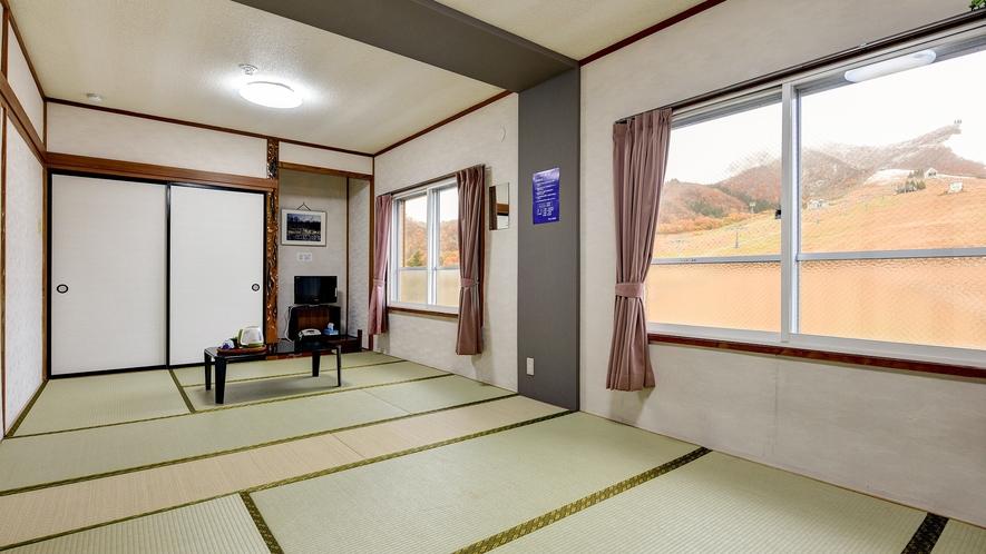 *和室(バスなし/トイレ付)/畳のお部屋に荷物を降ろしてのんびりお寛ぎ下さい。