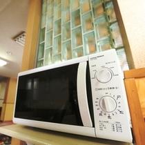 フリースペースは給湯ポッドや電子レンジも使えます
