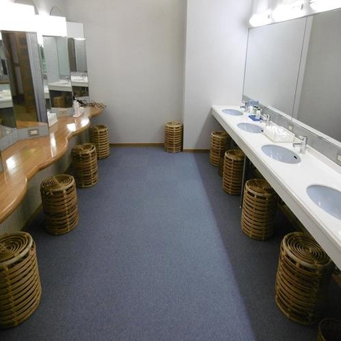 大浴場パウダールーム
