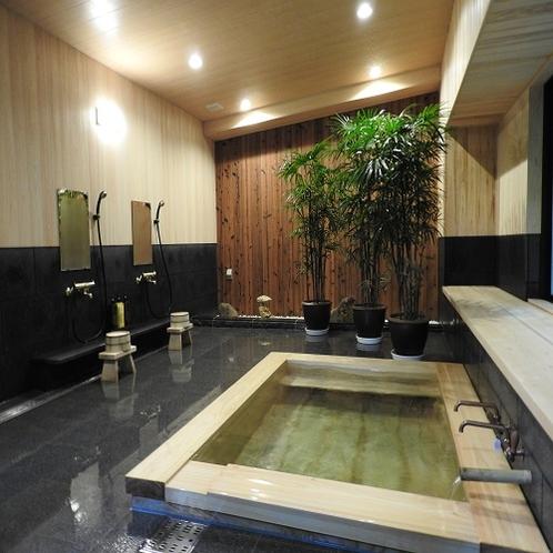 特別室 お風呂(檜風呂)
