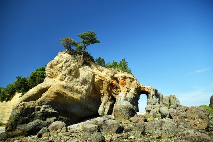 本山岬公園 くぐり岩