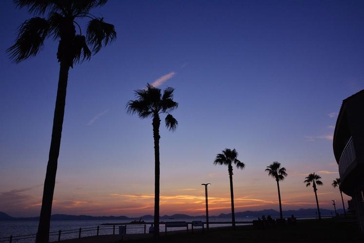 きららビーチ焼野 夕景