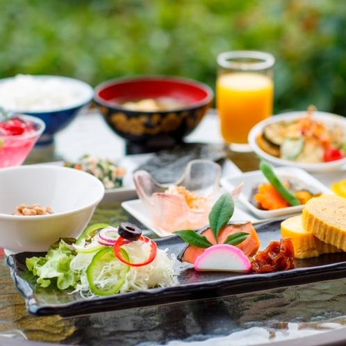 朝食の和食(一例)
