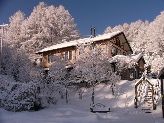 雪のメゾン・ド・ビュー八ヶ岳