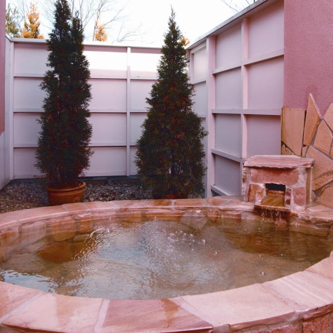 温泉露天風呂付ダブルルーム
