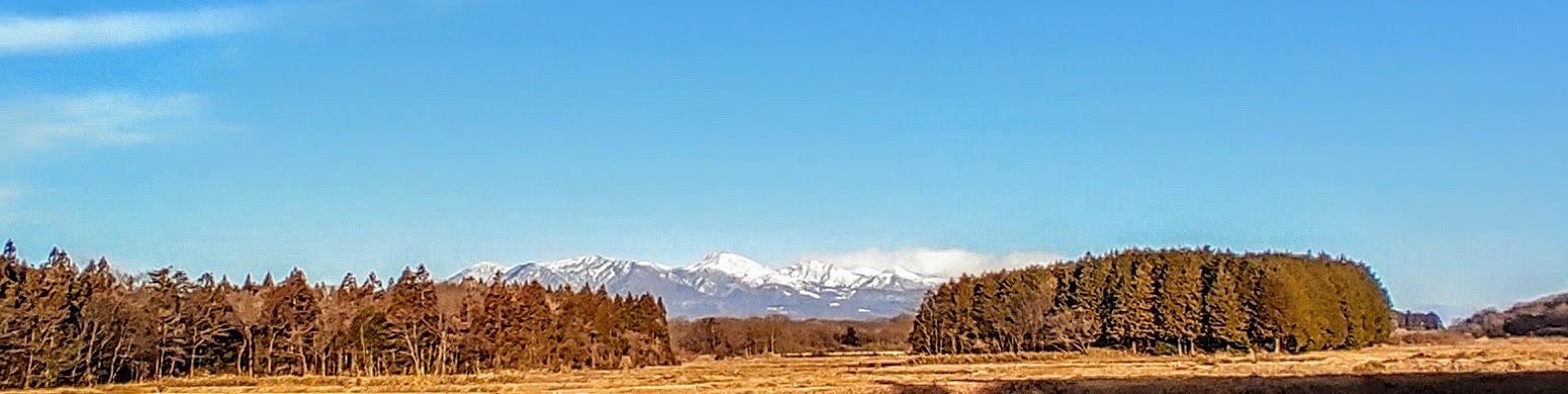 那須高原の夜明け(冬)