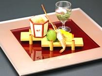 料理長 宮坂による渾身の料理をお楽しみください。
