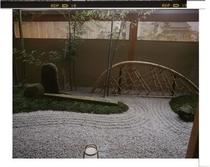 玄関京風庭園