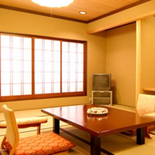 【本館和室】広さは約12畳ある客室