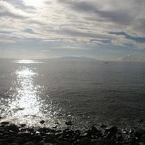 キラキラの海
