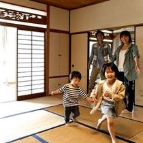 ■和室のお部屋でお子様ものびのびお過ごしいただけます♪