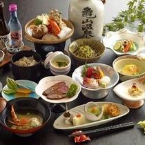 【会席料理】自野菜を中心としたおもてなし会席料理。※イメージ