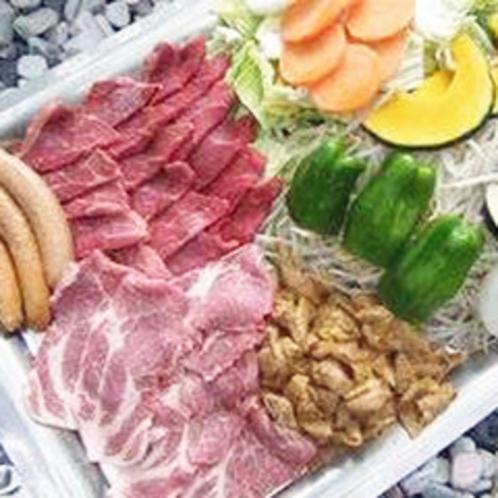 *【BBQセット】野菜盛り・やきそば付きでボリューム最高!