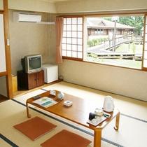 *【ターミナル棟】和室一例/唯一の和室タイプ。足を伸ばしてお寛ぎ下さい。