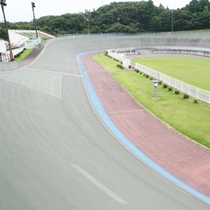 *サイクルスタジアム/日本で唯一、国際規定をクリアしているスタジアム。