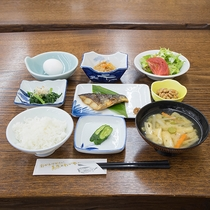 *【ご朝食一例】身体に優しい和食の朝ごはん