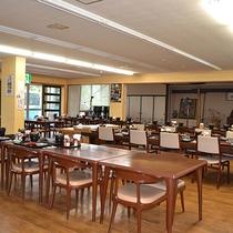 *【食堂一例】朝夕共にこちらでお召し上がり下さい(夕食 18:00~/朝食 7:00~)