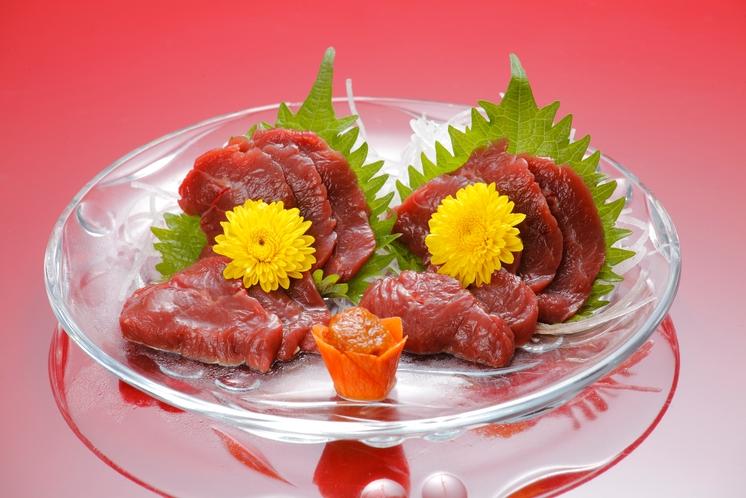 桜刺し(追加一品料理)