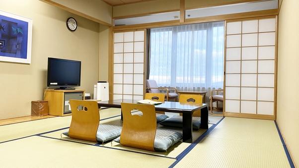 【本館】和室10畳/バス無し・トイレ付き【定員5名】