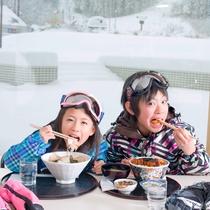 *【スキー場】ゲレンデには美味しい「ゲレ食」も♪定番のカレーや丼物、和食や洋食と種類も豊富☆