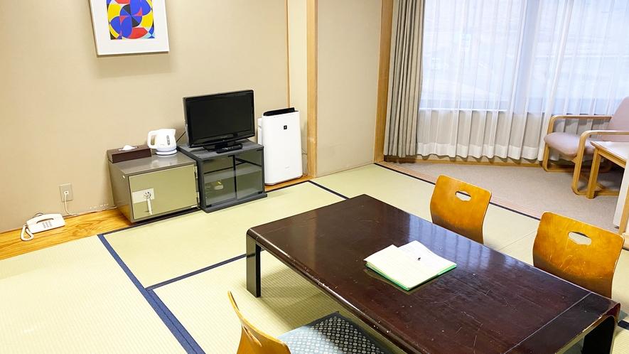 【≪本館≫和室8畳】山側に面したお部屋です。