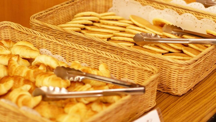 【朝食】<バイキング>ふっくら柔らかいパンも食べ放題!!