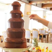 【夕食】<バイキング>チョコレートファウンテン