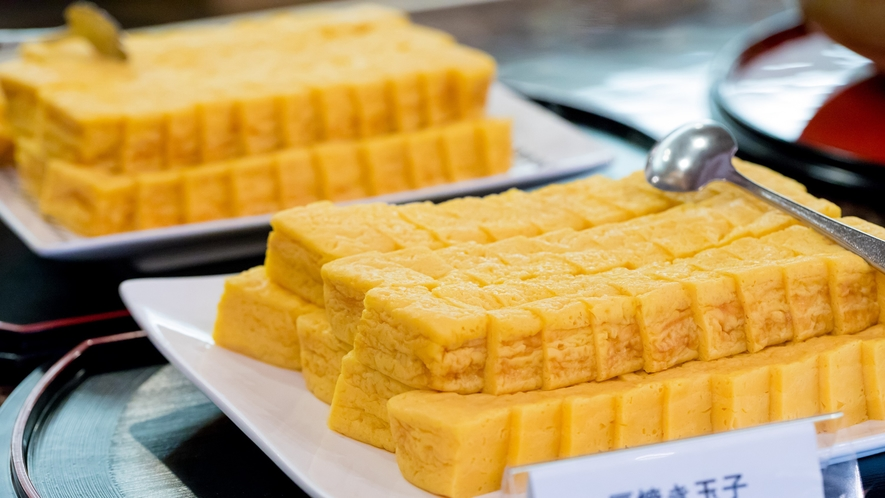【朝食】<バイキング>手作りの味わいを楽しめます。