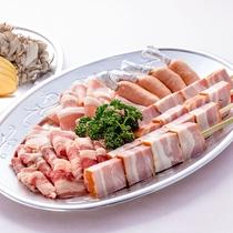 【ランチ】お手頃満腹セット(4人盛)<屋外:バーベQガーデン(5月下旬~10月中旬)>