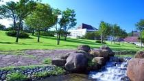 【外観】グリーンシーズンはゴーカートや魚釣りなど、お子様が喜ぶ施設を多数ご用意しております。