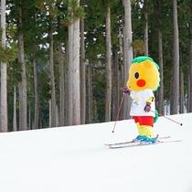 *【ぐりぐり×スキー場】ゲレンデの「ぐりぐり」は見つけたらラッキーなレアキャラ!写真もOKです♪