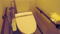 *【館内一例】ウォシュレット付きトイレを完備しております。