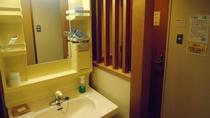 *【3階和室一例】お部屋にはトイレと洗面がついております。