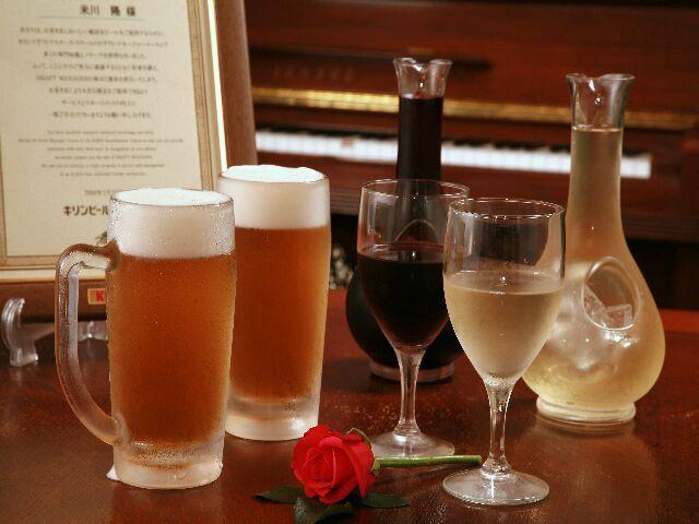 樽生・ワイン・焼酎の飲み放題