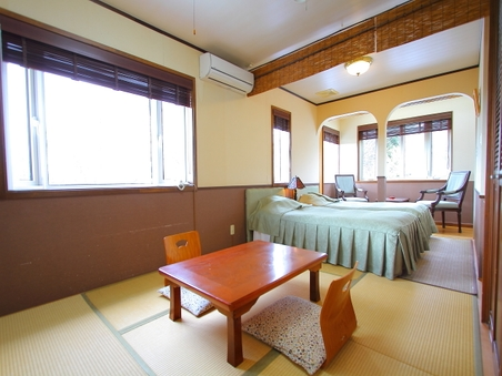 家族旅行、グループ旅行に最適なくつろぎの和洋特別室