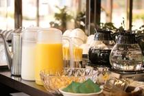 朝食 ドリンクコーナー(イメージ)