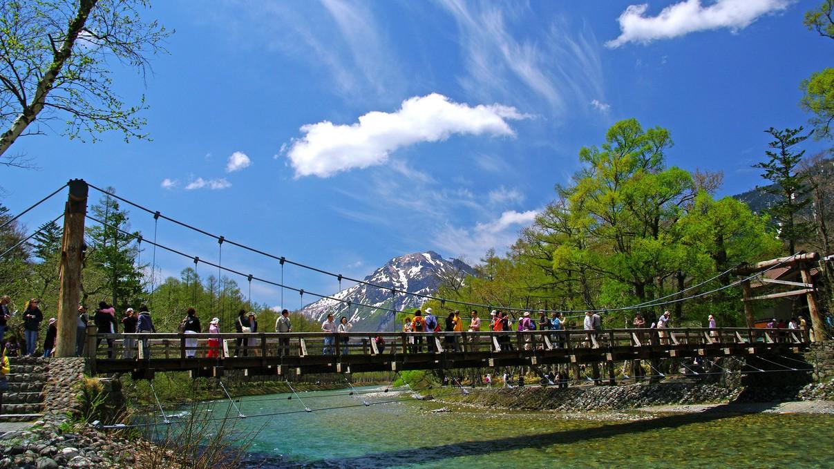 【春の上高地】天気が良い日は最高です!