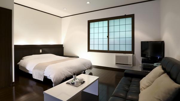 【ダブルベッドルーム】限定1室◆8畳◆