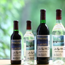 ■当館オリジナルワイン。お料理に合わせてお楽しみください。