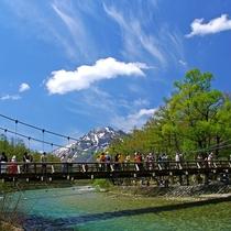 ■【春の上高地】天気が良い日は最高です!