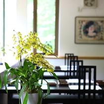 ■レストランでごゆっくりお食事をお楽しみください。